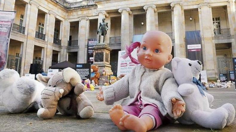 Este martes empezará a regir la cadena perpetua para violadores y asesinos  de niños y niñas en Colombia